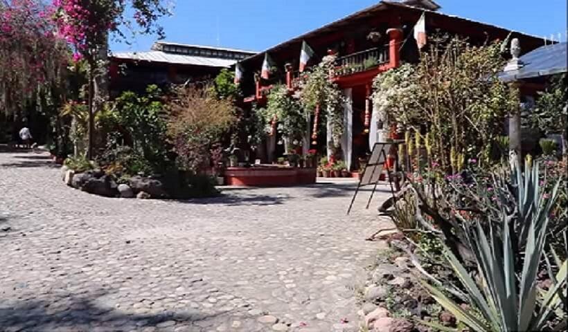 Entrance to Vallarta Botanical Garden