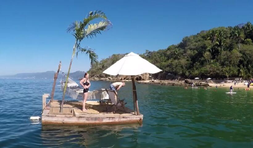Floating Platform in Las Caletas - Puerto Vallarta, Mexico