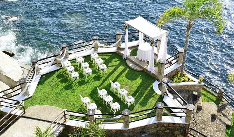 le kliff puerto vallarta wedding terrace